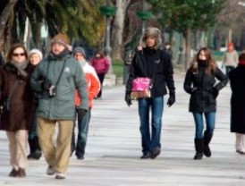 Descenso de hasta diez grados en las temperaturas a partir de este martes