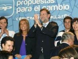 Aguirre no estará en el discurso final de Rajoy