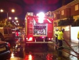 Los bomberos realizan 107 salidas por la tormenta