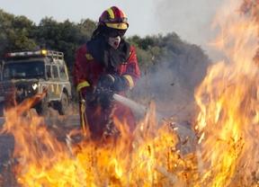 Controlado un nuevo incendio en Almorox, el cuarto en cinco días