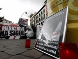 Concentración en Madrid en solidaridad con el joven francés asesinado presuntamente a manos de 'skinheads'