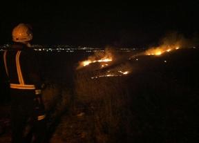 Controlado el incendio en Los Santos de la Humosa