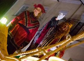 Los Reyes Magos se adelantan en Chamartín