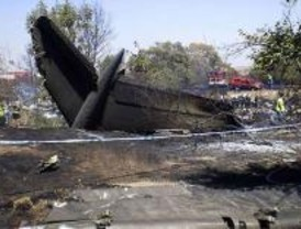 El accidente de Barajas, noticia del año 2008