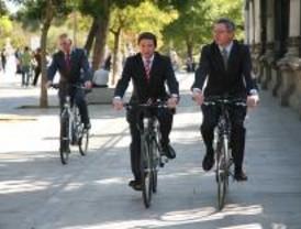 Las bicis de alquiler costarán 30 céntimos cada media hora