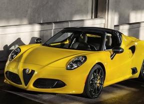 Alfa Romeo 4C Spider, un guiño al pasado del