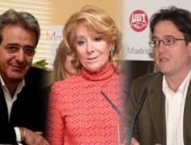 Aguirre negocia con UGT y CCOO para desbloquear la 'guerra' de Caja Madrid