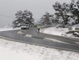 Se esperan 8 centímetros de nieve en la sierra