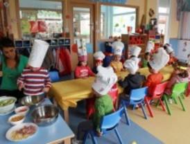 Los niños de Alcobendas aprenden a comer sano
