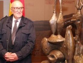 Recuperada la escultura inédita Monumento a los pájaros, de Alberto Sánchez