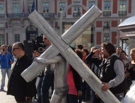 Alex de la Iglesia rueda en la Puerta del Sol