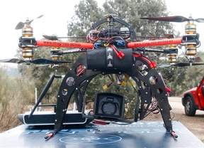 El Ayuntamiento de Madrid dota con un dron a bomberos, Samur y policía