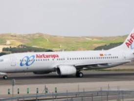 Regresa un avión a Barajas tras morir una pasajera