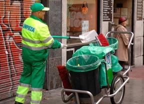 Las calles de Madrid pierden 782 barrenderos por el ERTE