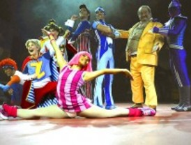 Sportacus, un espectáculo infantil con un superhéroe contra la obesidad