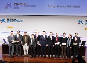 Ganadores de la pasada edición de EmprendedorXXI