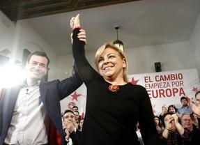 Tomás Gómez abre la precampaña europea con Elena Valenciano