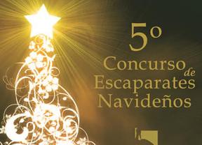 Cartel del 5º Concurso de Escaparates Navideños