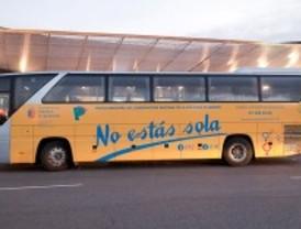 Autobús contra la violencia de género en Pozuelo