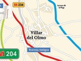 La M-209 en Villar del Olmo estará cortada dos meses