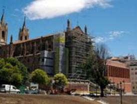 Discrepancias sobre la restauración ralentizan las obras de la iglesia de los Jerónimos