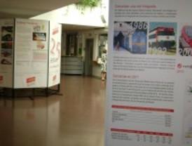 Majadahonda acoge la muestra de los 25 años de vida del Consorcio de Transportes