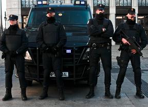 La presencia policial por la alerta terrorista ya es visible en Madrid