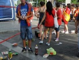 Los ayuntamientos madrileños gestionarán las multas por botellón