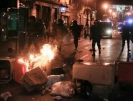 La manifestación acaba con cargas y carreras por Sol, Tirso y Lavapiés