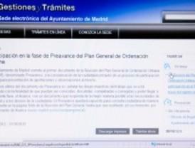 Madrid 'digitaliza' nuevos trámites municipales