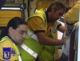Cuatro miembros de una familia, heridos en un accidente de tráfico en Moratalaz