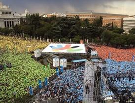 Madrid muestra al mundo su espíritu olímpico