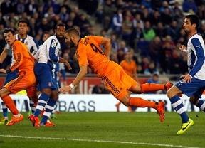 El Real Madrid se impone al Espanyol