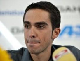 Pinto organiza una marcha ciclista de apoyo a Contador