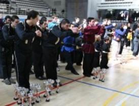 Leganés acoge el campeonato de Madrid de kung fu