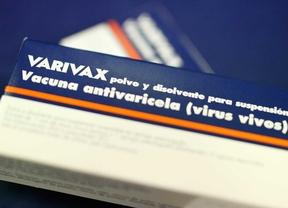 Vacuna contra la varicela Varivax.