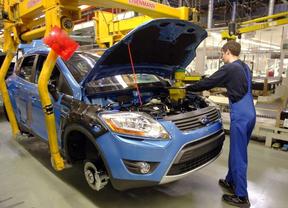La fabricación de vehículos en línea ascendente