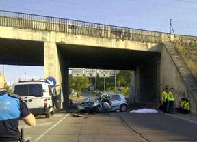 Un fallecido en un accidente de tráfico en la incorporación de la M-21 a Coslada