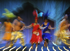 Bollywood pisa por primera vez La Latina