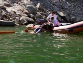 Los bañistas disfrutan del Pantano de San Juan con seguridad