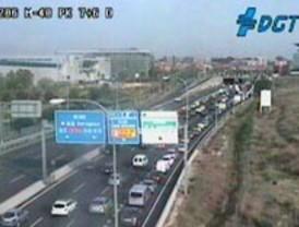 Mucho tráfico en el interior de la ciudad