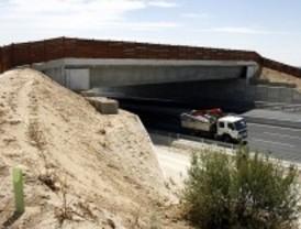 Obras para eliminar tramos peligrosos en la M-307