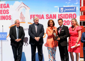 Entrega de premios de la Feria de San Isidro