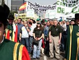 Madrid se llena de manifestantes