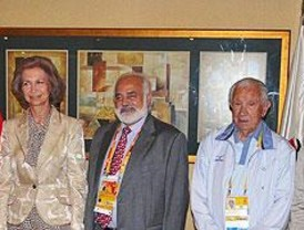 La Reina respalda Madrid 2016 ante el COI