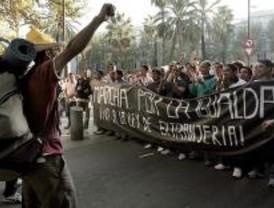 Marcha a Madrid contra la reforma de la ley de extranjería