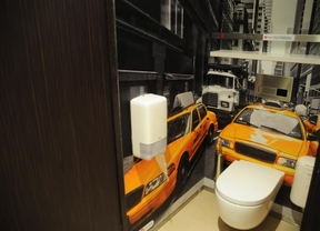 Aseos para taxistas por 0,60 euros en Atocha