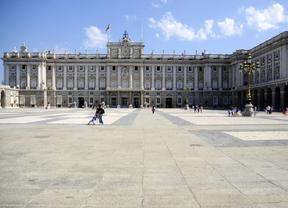 La corona y el cetro reales podrán verse en el Palacio Real