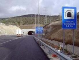 El túnel reversible de la AP-6 se abrirá el fin de semana