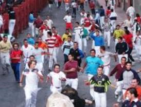 El primer encierro termina con 16 contusionados sin gravedad y 2.200 corredores